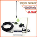 LCD GSM Impulsionador 2G Cell Phone Signal Booster GSM 900 mhz Móvel Celular Repetidor de Sinal Amplificador com Antena Atacado