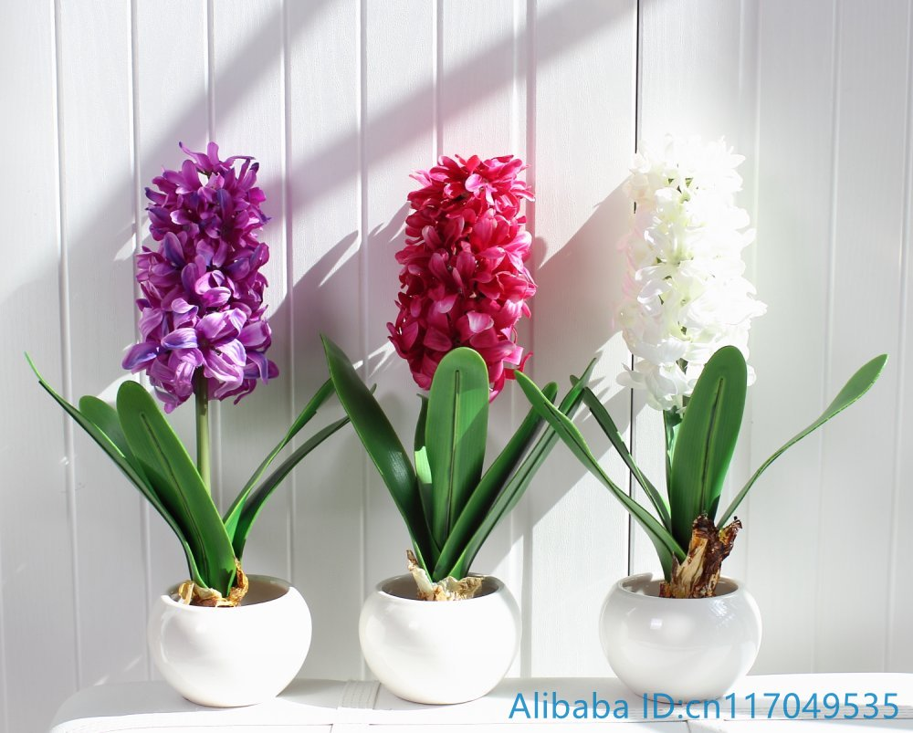 1 pcs artificial flower hyacinth with bulb home garden decoration 1 pcs artificial flower hyacinth with bulb home garden decoration f367 in artificial dried flowers from home garden on aliexpress alibaba group reviewsmspy