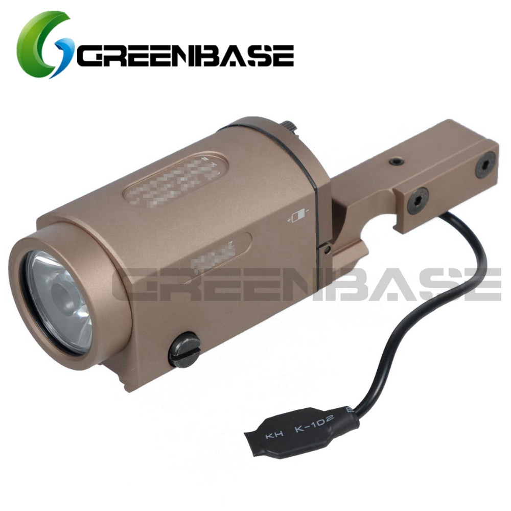 Greenbase AK SD Tactical Light ZENIT 2P KLESH AK SD Weapon Light With Remote Switch And