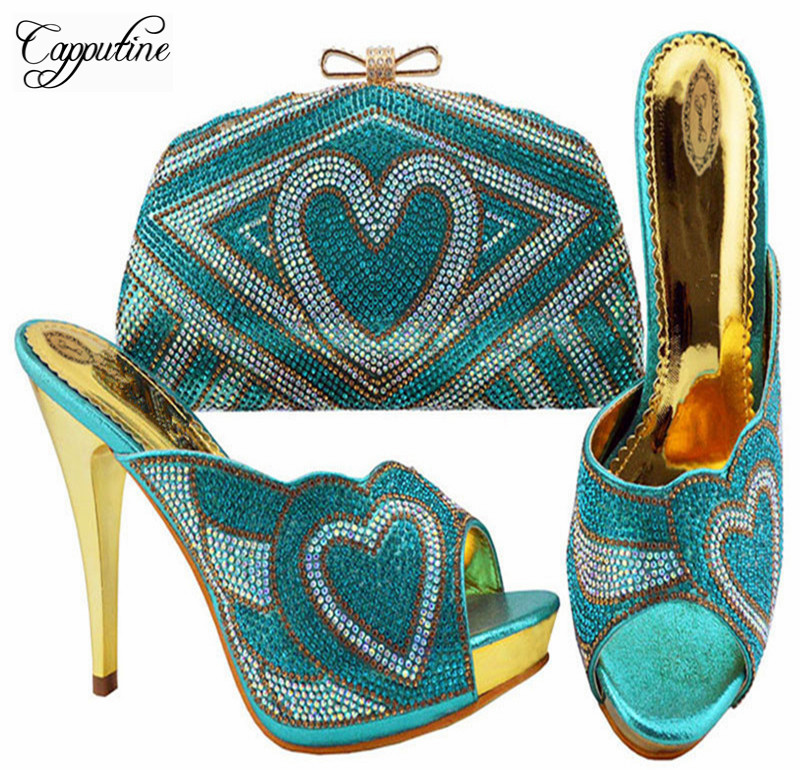2016 Nigeria Fashion Rhinestone Woman Shoes And Bag Set Italy Style High Heel Shoes And Bag Set For Party Free Shipping ZC0052016 Nigeria Fashion Rhinestone Woman Shoes And Bag Set Italy Style High Heel Shoes And Bag Set For Party Free Shipping ZC005