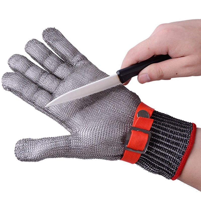 Safety 100% Stainless Steel High Quality Butcher Protect Glove Cut-proof Gloves