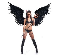 2018 new style angel wing props catwalk show props festival Angel Feather wings Window props underwear show costume