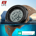 TTlife Luxury Brand Mens Sports Watches Dive 50m Digital LED Military Watch Men Fashion Casual Electronics Wristwatch Male Clock