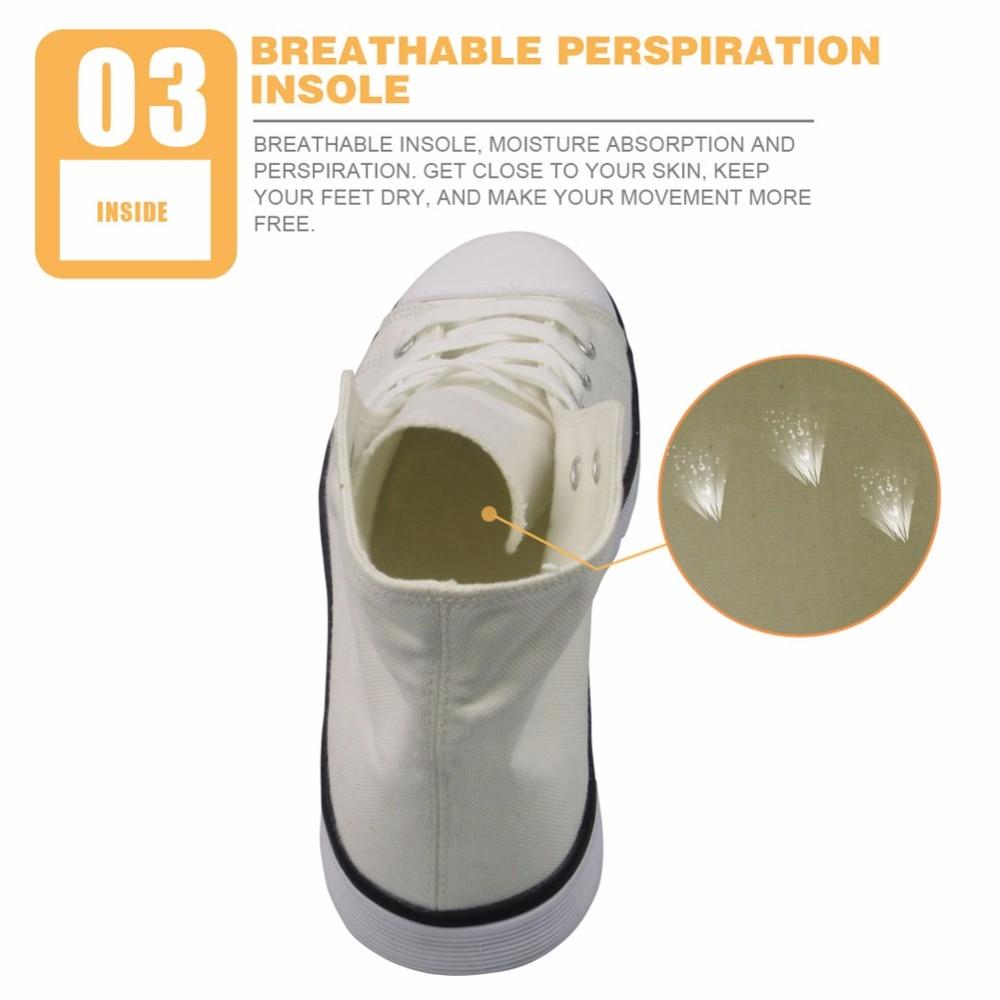 De Toile Chaussures Fox Casual Respirant D'été h10375ak Vulcaniser Imprimer Dessinée High Sneakers Hommes Laçage Garçons Customak Bande Pour Noisydesigns Top wzFxq7qY