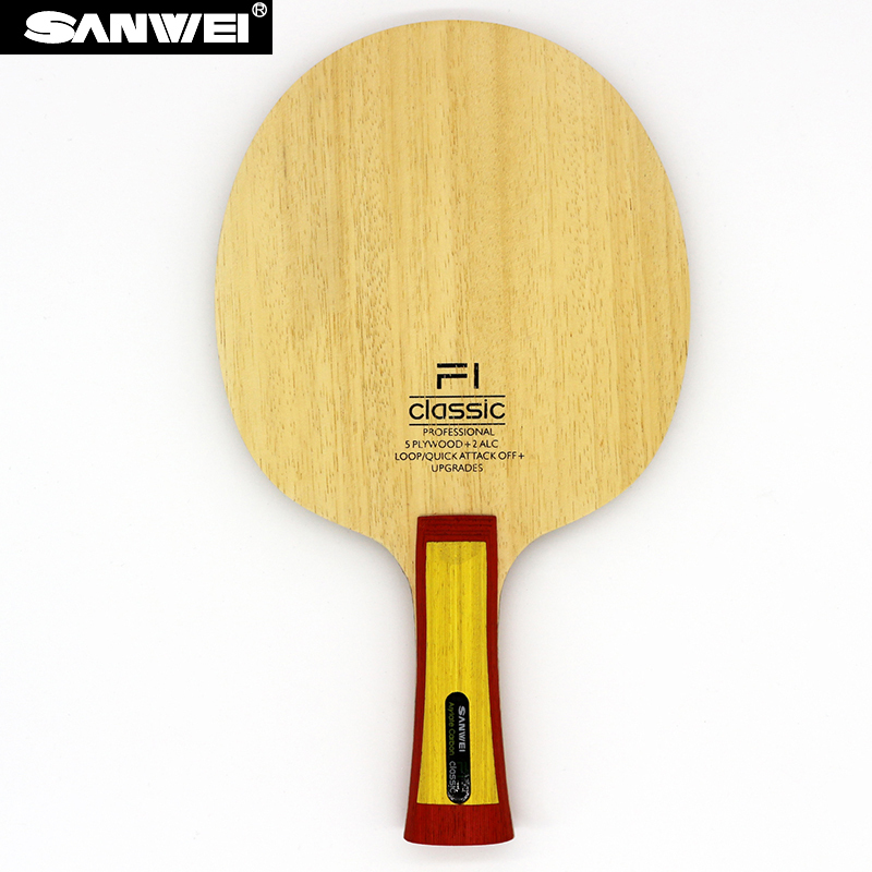 Sanwei F1 Classic (VISCARIA Structure ALC) Table Tennis Blade Arylate Carbon Ping Pong Bat alc f49s
