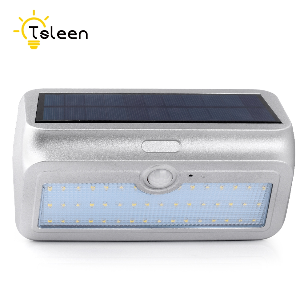 TSLEEN 950LM Solar Light 46 LED Lamp Outdoor Light Garden 3 Mode Solar Lamp Garden Wall Light Waterproof Lamp Solar Street Light newest style led solar wall light solar lamp outdoor solar garden decorative lamp