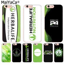 MaiYaCa czarny i zielony Herbalife jednolity kolor ultracienki moda etui na telefon dla iPhone 8 7 6 6S Plus X 10 55S SE XS XR XS MAX(China)