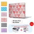 Печати Любящее Сердце Ноутбук Тяжелых Случаях Крышка Для Macbook Pro 13 15 случае Pro 13 15 с Сетчатки Воздуха 11 13 Ноутбук Протектор Shell