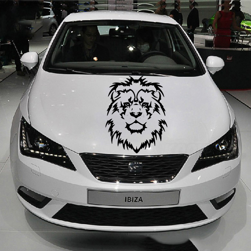 Vinyl Lion Auto Stickers On The Car Reflective Decoration Motorcycle Auto Stickers And Decal Car-Styling Exterior Accessories