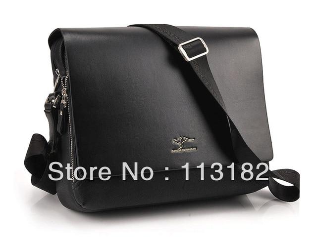 2013 New Arrived free shipping genuine leather men bag Australia kangaroo