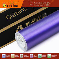 Purple Matte Chrome Brushed Aluminium Wrap Car Sticker High Quality Factory Sale