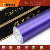 Purple Matte Chrome Brushed Aluminium Wrap Car Sticker High Quality Factory Sale