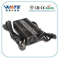 3.65 ボルト 15A 充電器 1 s 3.2 ボルト LiFePO4 バッテリースマート充電器ハイパワー充電器自動停止スマートツールアルミシェルとファン