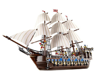 LEPIN 22001 Pirates Series The Imperial Flagship Model Building Blocks Set Compatible With Legoed Pirate Ship