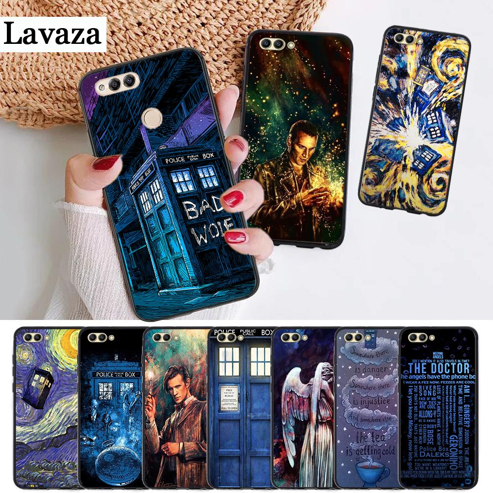 Half-wrapped Case Lavaza Tardis Box Doctor Who On Sale Silicone Case For Huawei Honor 6a 7a Pro 7x 8 Lite 8x 8c 9 Note 10 Comfortable And Easy To Wear Cellphones & Telecommunications