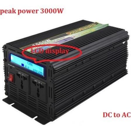 1500w rated power LCD display DC 12V/24V to AC 220V 230V modified Sine Wave Inverter lp116wh2 m116nwr1 ltn116at02 n116bge lb1 b116xw03 v 0 n116bge l41 n116bge lb1 ltn116at04 claa116wa03a b116xw01slim lcd