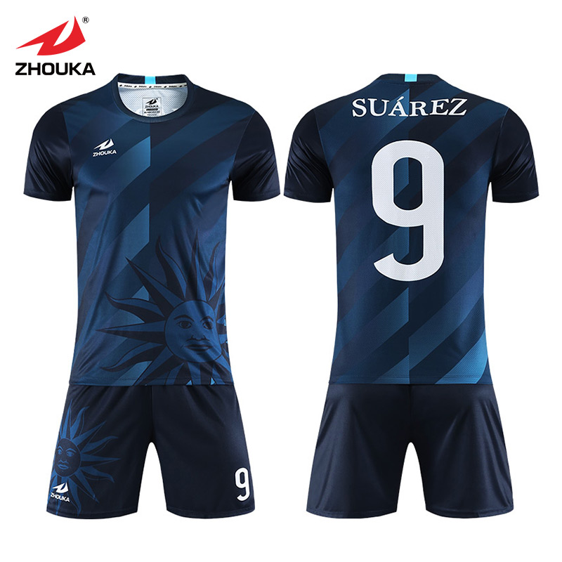 2018 fashion and cool soccer jerseys customization football uniforms for team full printing name and number custom your own logo design palyer s name and number sublimation print men s football team jersey personality customization