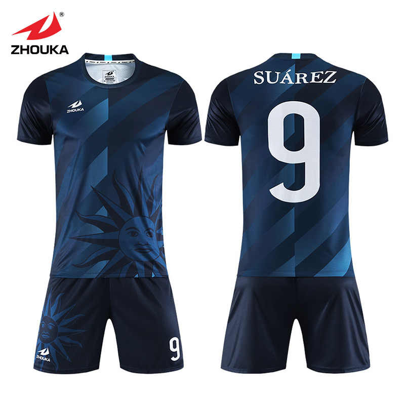 e68cbbb8723 2019 fashion cool soccer jerseys Sets customization football uniforms for  team full printing name and number