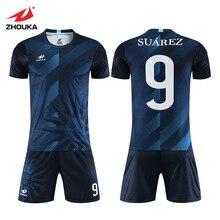 TrackSuits Soccer Jerseys Sets Forma Futbol Customization Football Uniforms For Team Club Custom Sport Jersey Football Shirts цена 2017