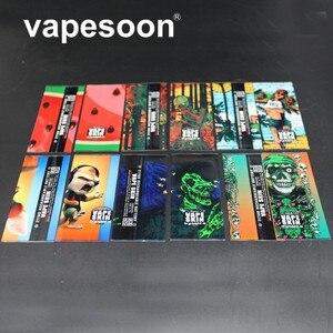 500 шт защитная кожа 18650 батарея защищенная обертка батарея обертка наклейка для электронной сигареты 18650 батарея оптовая продажа