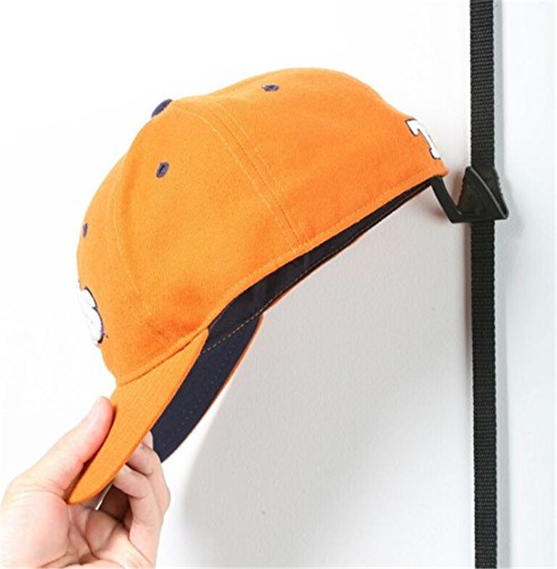 Hot Baseball Cap Rack Hat Holder Rack Home Storage Door Closet Hanger Decor US