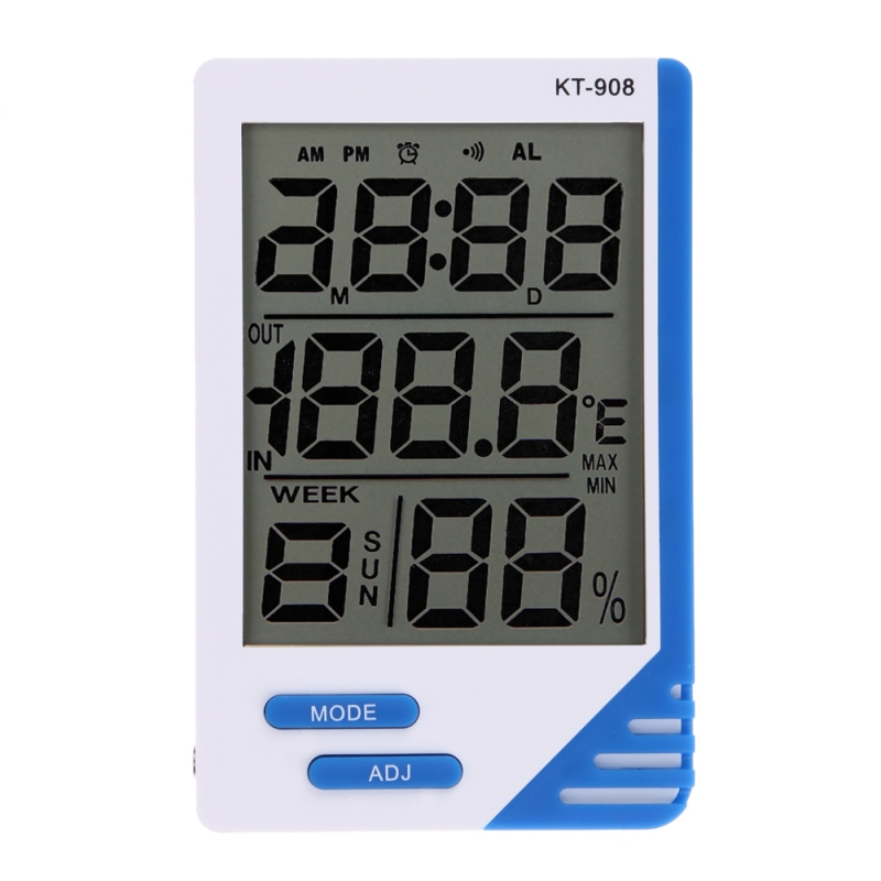 Temperature and Humidity Meter Indoor font b Outdoor b font Home Office LCD font b Digital
