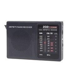 Мини портативное радио FM/AM/tv звук кампуса радио карманный радио со встроенным динамиком высокое качество