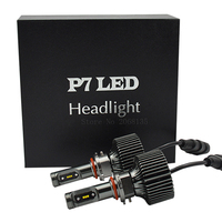 2PCS High Quality 9006 HB4 60W 8400LM P7 Led Car Headlight Conversion Kit Driving Fog Lamp