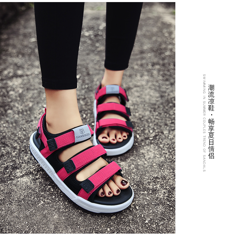 115601ccb7d5 Aliexpress.com   Buy 2019 Camssoo Womens Light Weight Beach Shoes ...