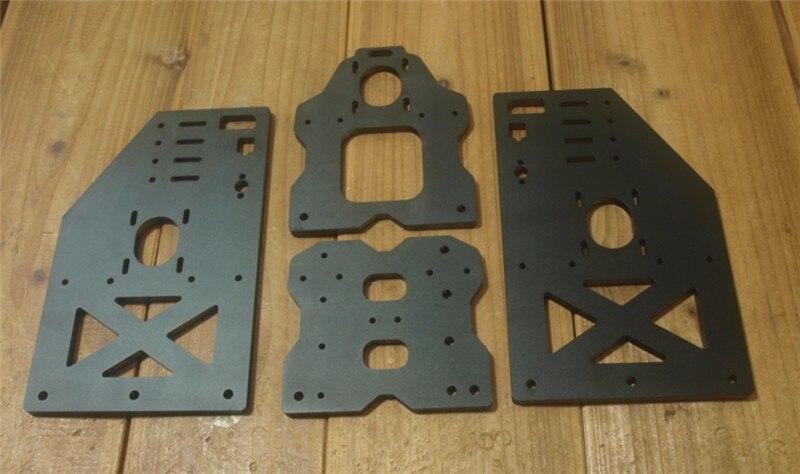 Funssor OX CNC taller комплект козловой плиты Y gantry 10 мм толщина 29 см Высота выше Y портальные пластины для DIY OX CNC Machi'ne