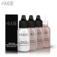 KIMUSE Face Illuminator Makeup Liquid Highlighter Countour Glow Shimmer Shiny Bronzer Long Lasting Brighten Face Highlighter