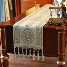 Full edge table runner European fashion embroidery flag bed coffee cabinet entrance placemats teasideend