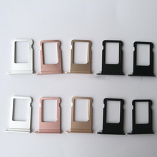 For iphone 5 Nano SIM Card Holder Tray Slot for iphone 5S 5C Replacement SIM Card Holder Adapter Socket Accessories 80 цена