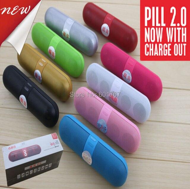 2.0 Wireless Bluetooth Speaker TF caixa de som USB Charge Out Cargador bateria portatil Power Bank boomer accessoires acessorios