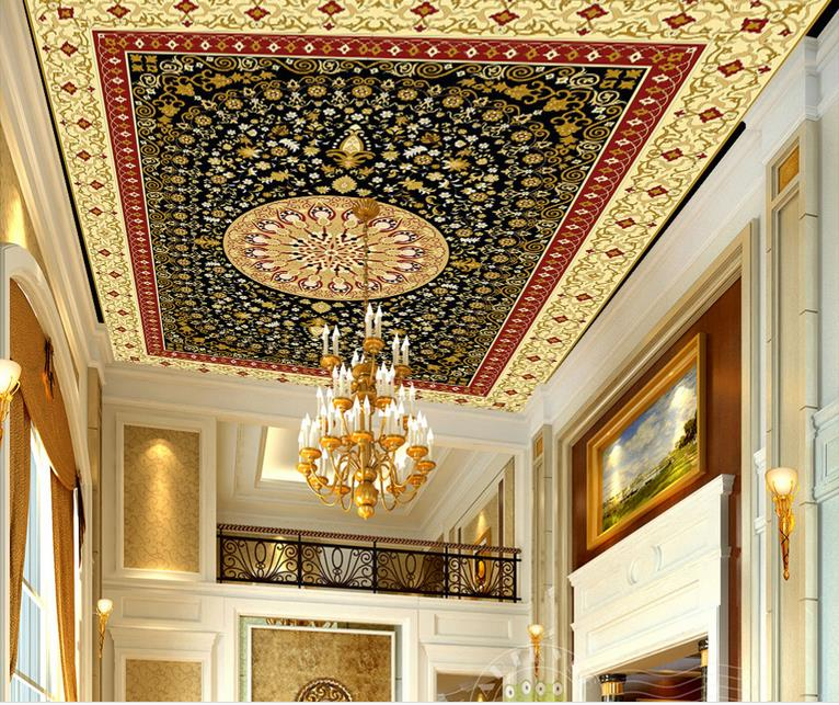 custom 3d ceiling wallpaper National circle 3d ceiling murals wallpapers for living room 3d photo wallpapers ceiling sky ceiling wallpaper photo wallpaper for kids living room bedroom nonwoven wallpaper 3d ceiling murals wallpaper