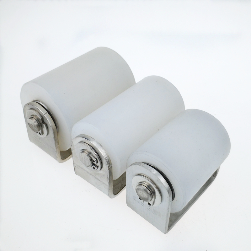 1unit Automatic Sliding Gate Door Wheel Nylon Roller Stopper 201 Stainless Steel Bracket (1piece Per Order)