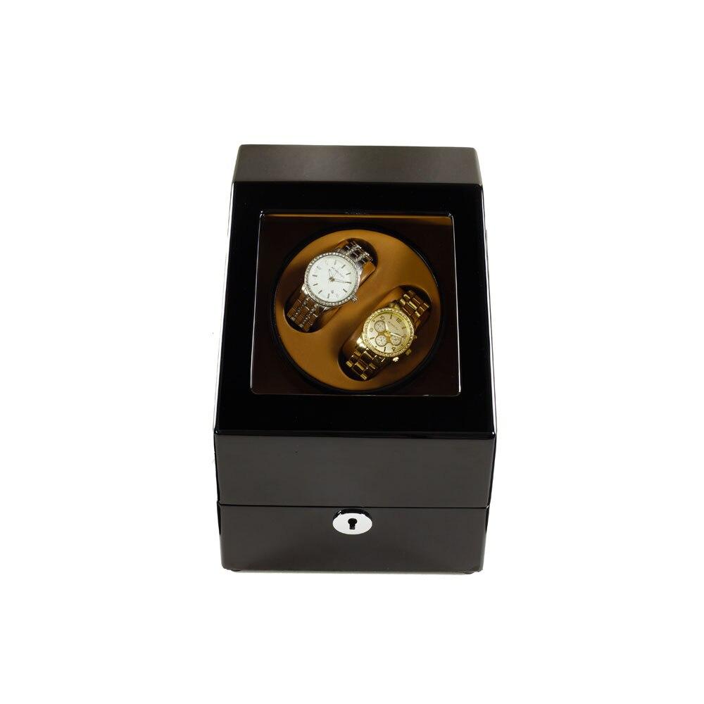 İzle Sarıcı, LT Ahşap Otomatik Rotasyon 2 + 3 İzle Sarıcı - Saat Aksesuarları - Fotoğraf 2