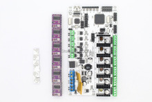 3D printer motherboard rumba MPU / 3D printer accessories RUMBA optimized version control Board with 6PCS DRV8825