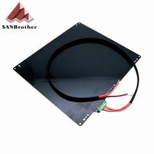 Impresora 3D Ultimaker 2 + UM2 Cama Cama Caliente de la Aleación de Aluminio 3D Accesorios de la impresora 0.2-3.5ohm 24 V Climatizada Cama Placa Con Cable Caliente de La Venta!!!