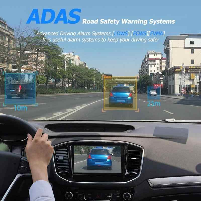 Anytek X28 1080P Full HD coche DVR Cámara WiFi G-sensor Auto grabadora Dashcam DVR ADAS Cámara G-sensor Wifi GPS Dashca