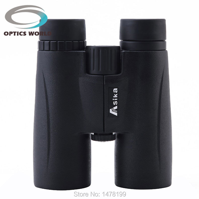 Asika w3 8x42 Binoculars Waterproof BAK4 Telescope High-definition optical glass lenses telescopio night vision binoculo black цена и фото