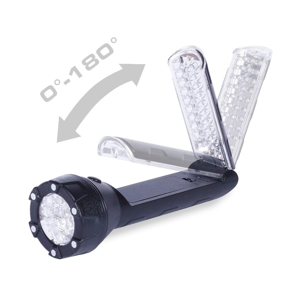 Everbrite LED Table de lampe de Poche Lumière 300 Lumens Multifonction lampe de Poche/Lampe de Travail LED Lampe Torche avec Base Magnétique