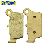 Freeshipping Sintered Rear Brake Pads For Kawasaki KLX450 2008 2009 KX250 04 09 KX450F 2006 2007