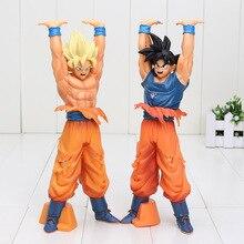 24cm Anime Dragon Ball Z Son Goku Genki Dama Spirit Bomb Action Figure Kakarotto Collection Model Kids Toy