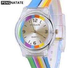 Уиллис Марка Дизайн часы Для женщин Симпатичные циферблат для мальчиков Обувь для девочек спортивные Часы подарок силиконовой лентой Relógio masculino pengnatate