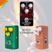 JOYO JF 01 Vintage High Gain Overdrive Guitar Effect Pedal High Power Booster Tube Overload Stompbox