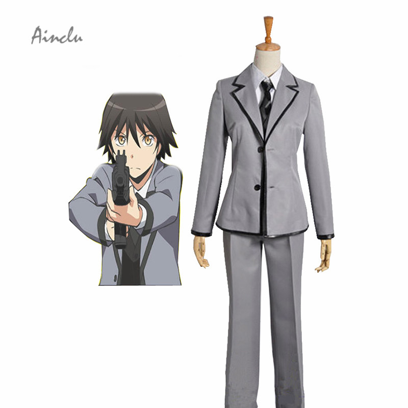 Ainclu Shipping Assassination Classroom Kunugigaoka Junior High School Class 3-E Boy's School Kids Uniform Cosplay Costume