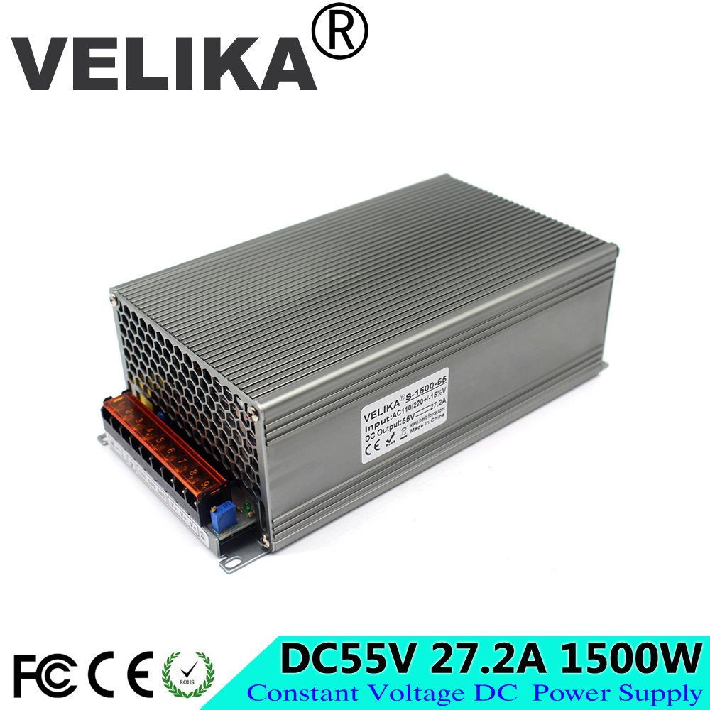 ac dc power supply module 55V 27 2A 1500W Driver Transformers 110V 220V AC to DC55V
