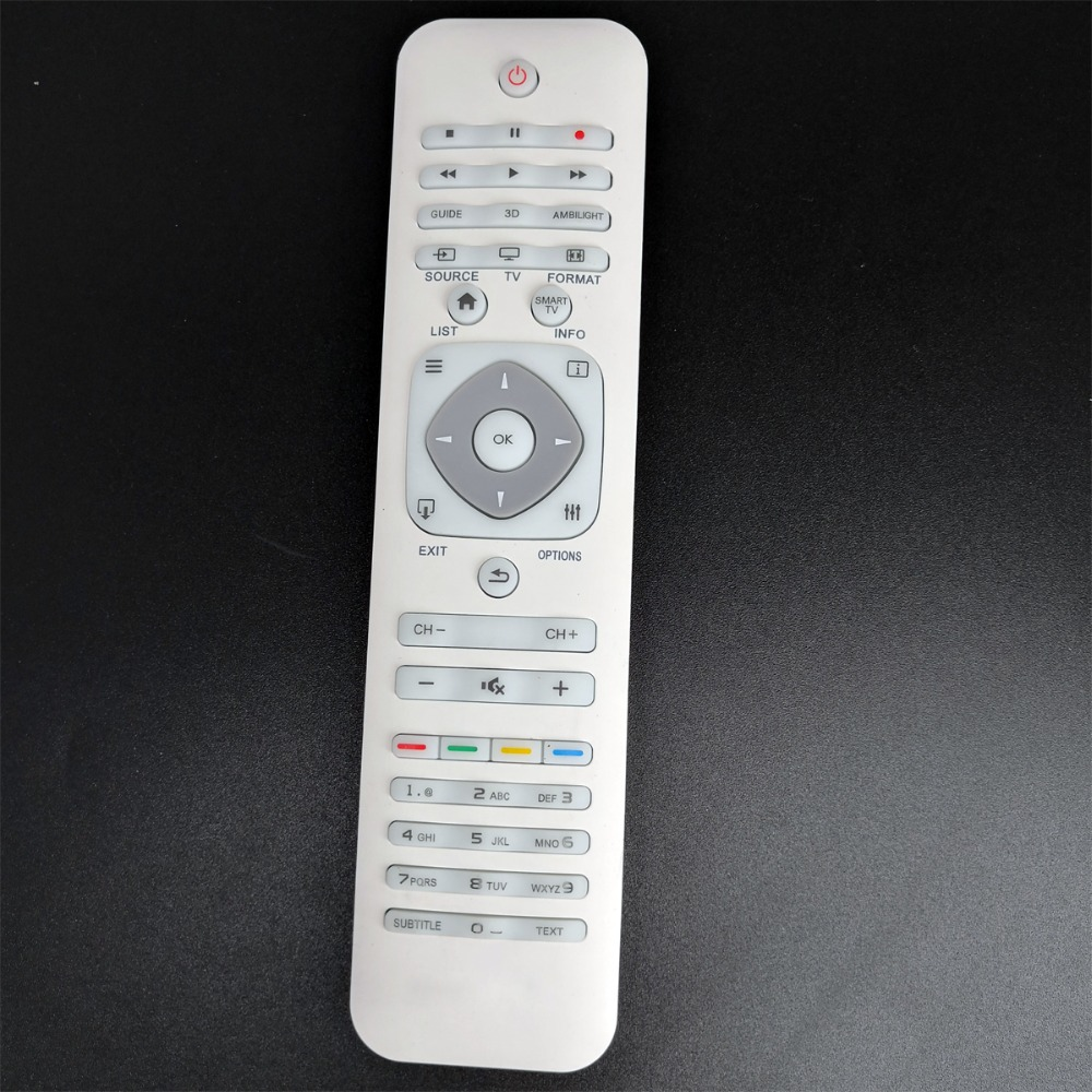 (4 Pcs/ lot) Wholesale Hot Sale High Quality New TV remote control For PHILIPS Parts 55 / 65PFL7730 8730 9340 Series