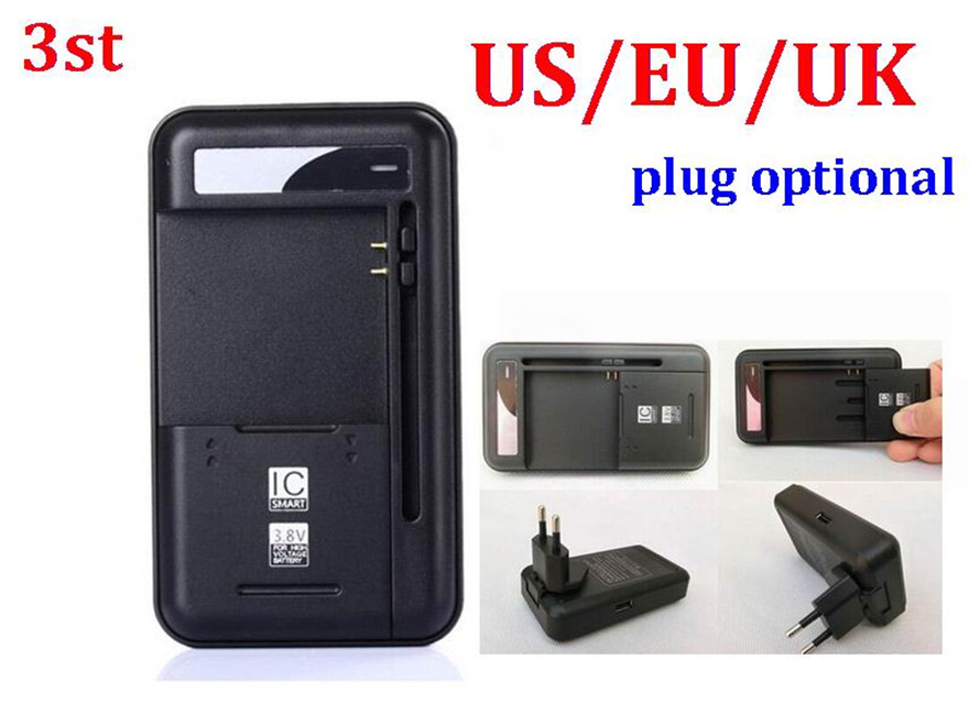 100pcs 3st 2 in 1 Multi functional Mobile Universal Battery Charger dock YIBOYUAN For Cell Phones USB Port-in Chargers from Consumer Electronics    1